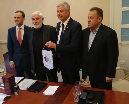 Naujas LGF prezidentas Rymantas Juozaitis