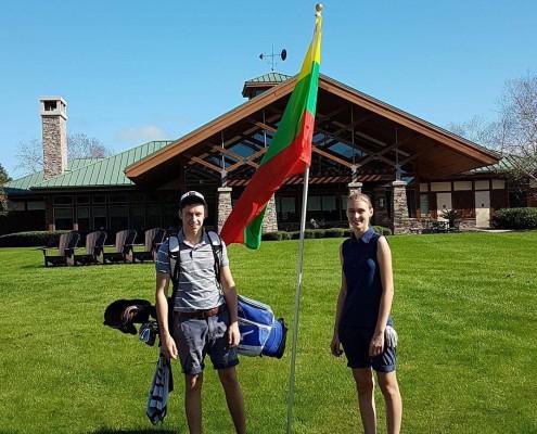 WJGC American Junior 2016 - Gediminas Markevičius ir Gilė Bitė Starkutė